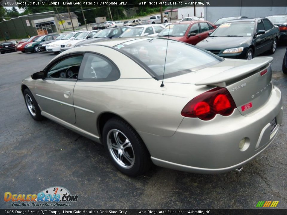 2005 dodge stratus r t coupe linen gold metallic dark. Black Bedroom Furniture Sets. Home Design Ideas