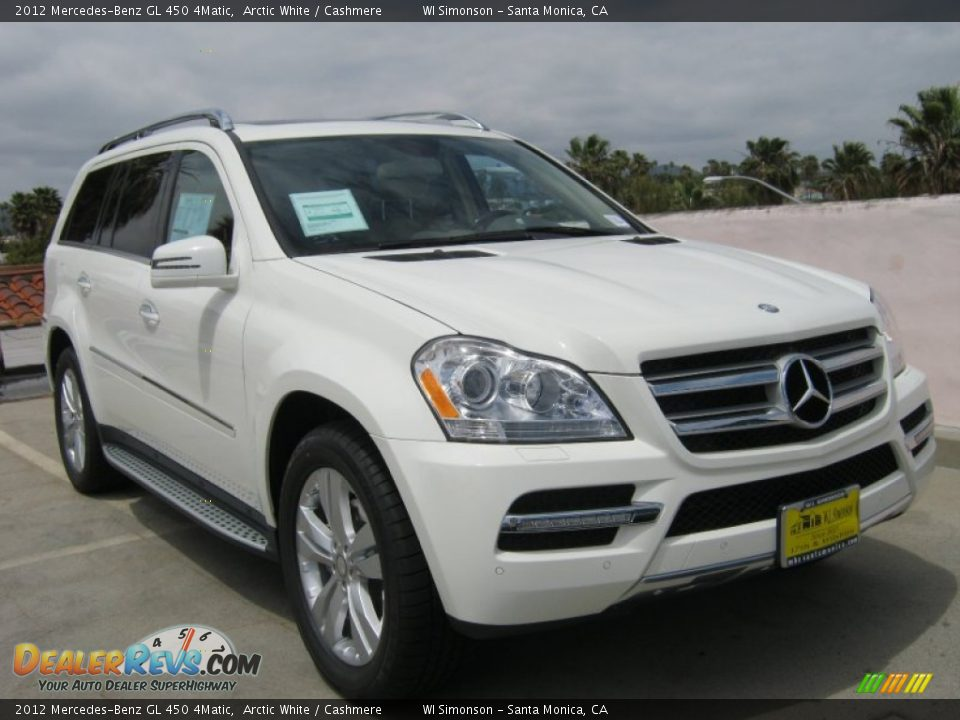 2012 mercedes benz gl 450 4matic arctic white cashmere for Mercedes benz 2012 gl450