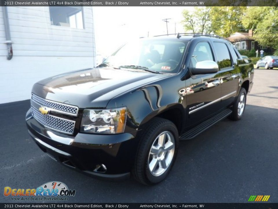2013 chevrolet avalanche ltz 4x4 black diamond edition black ebony photo 3. Black Bedroom Furniture Sets. Home Design Ideas