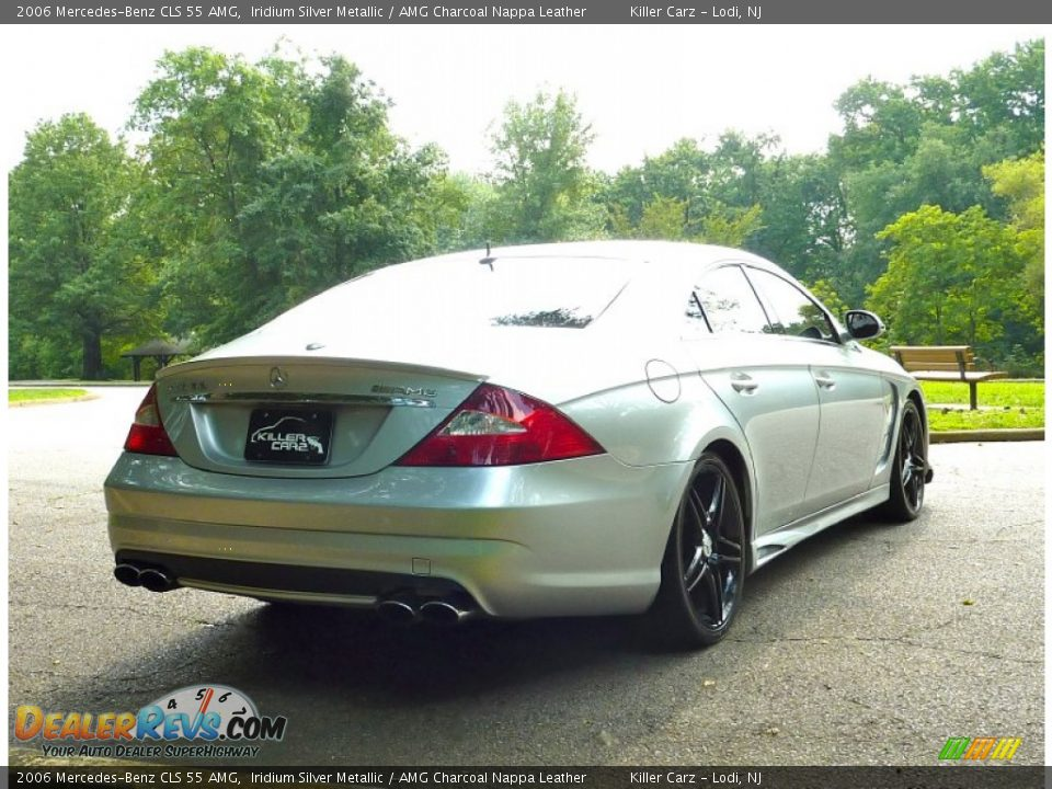 2006 mercedes benz cls 55 amg iridium silver metallic for 2006 mercedes benz amg