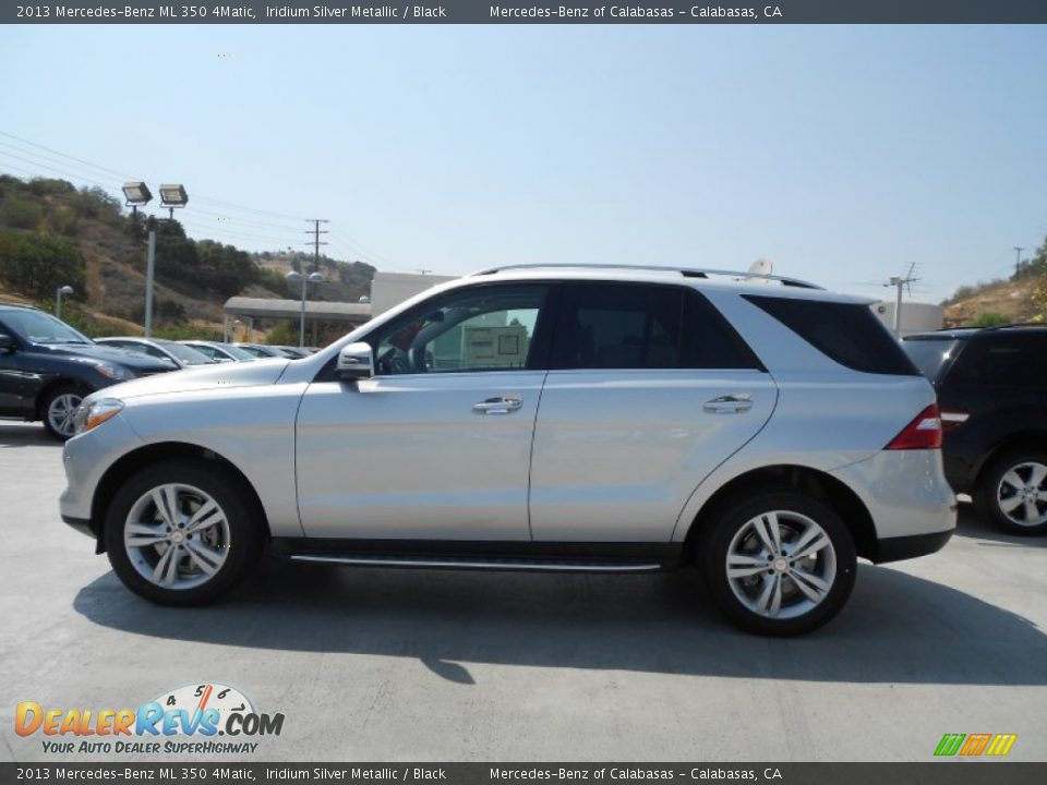 2013 mercedes benz ml 350 4matic iridium silver metallic for Mercedes benz 350 ml 2013