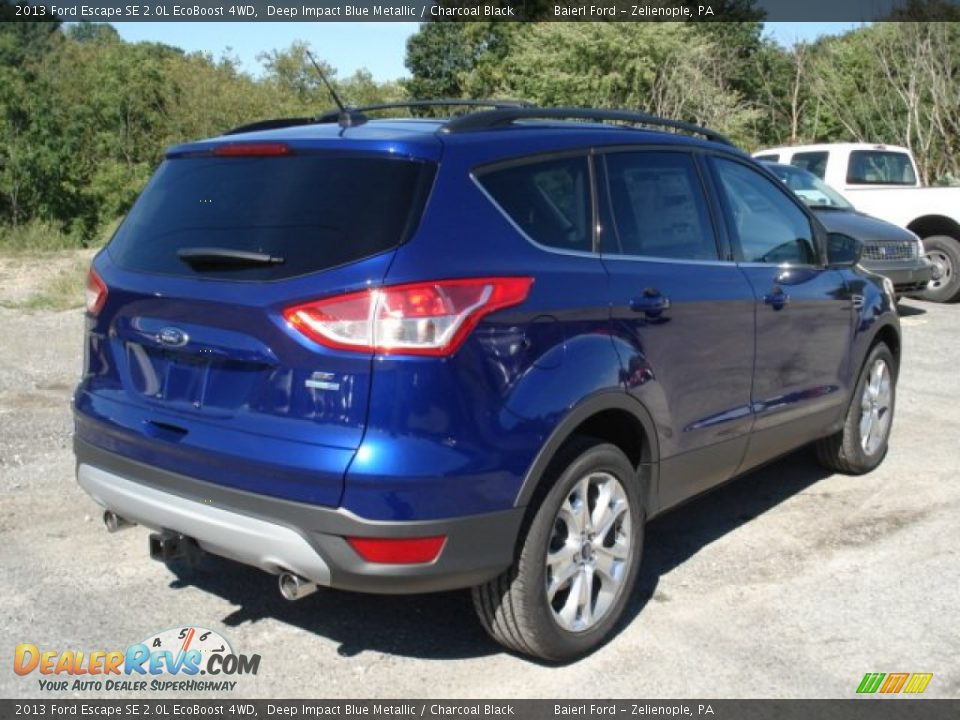 2013 Ford Escape Se 2 0l Ecoboost 4wd Deep Impact Blue