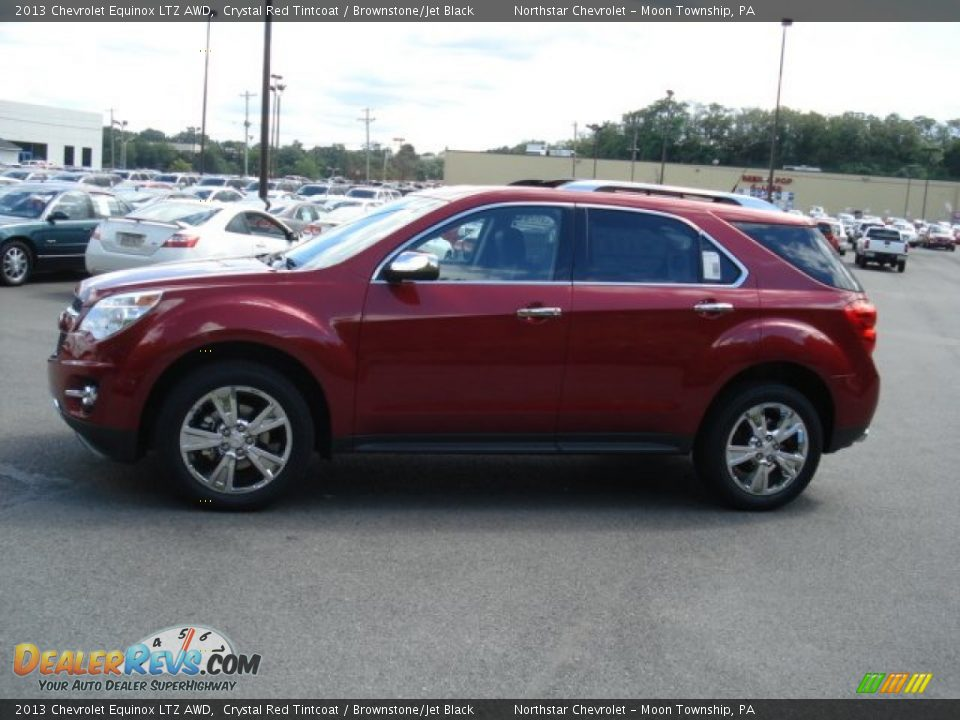 2013 Chevrolet Equinox Ltz Awd Crystal Red Tintcoat