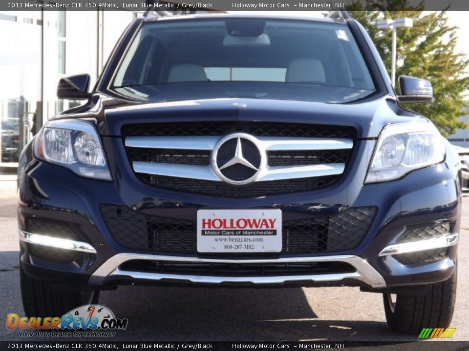 2013 mercedes benz glk 350 4matic lunar blue metallic for Mercedes benz lunar blue