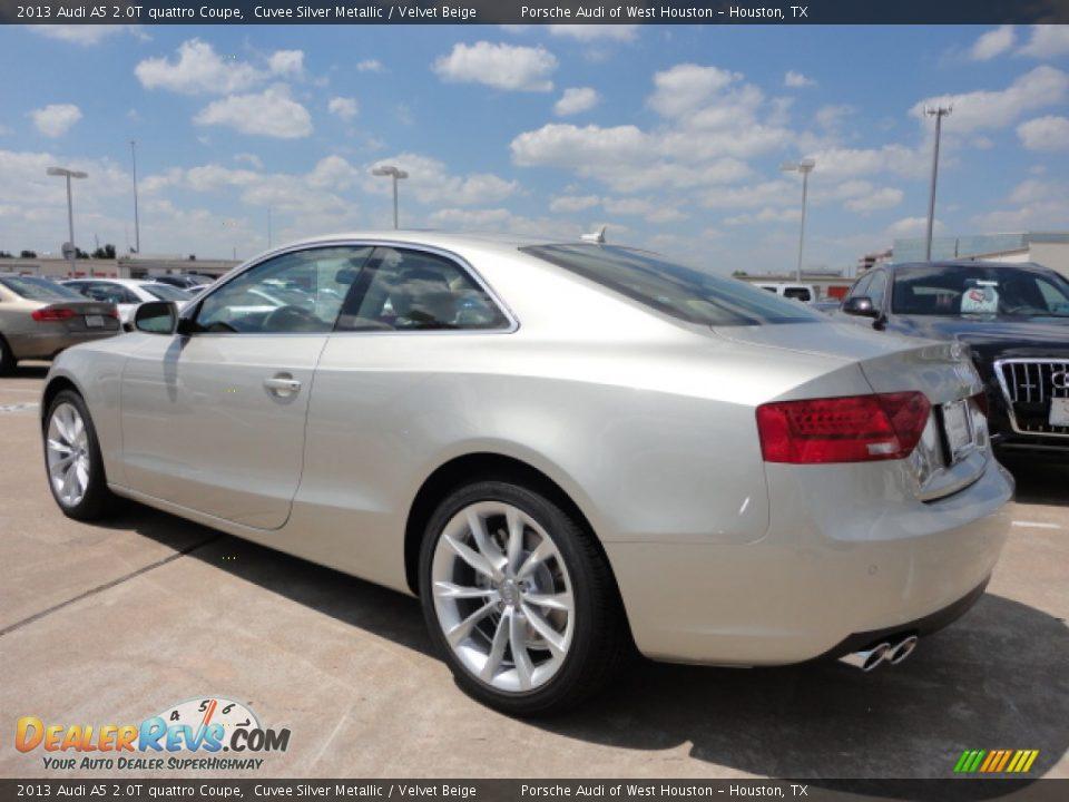 Cuvee Silver Metallic 2013 Audi A5 2 0t Quattro Coupe