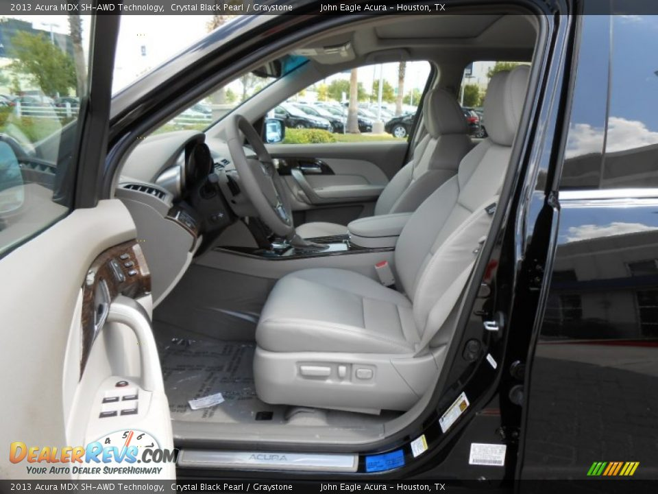 Graystone Interior 2013 Acura Mdx Sh Awd Technology