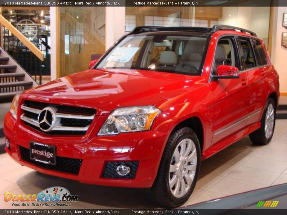 2010 Mercedes Benz Glk 350 4matic Mars Red Almond Black