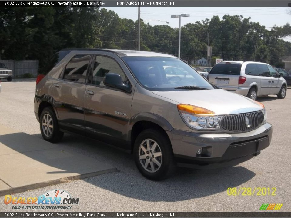 2002 buick rendezvous cx pewter metallic dark gray photo. Cars Review. Best American Auto & Cars Review