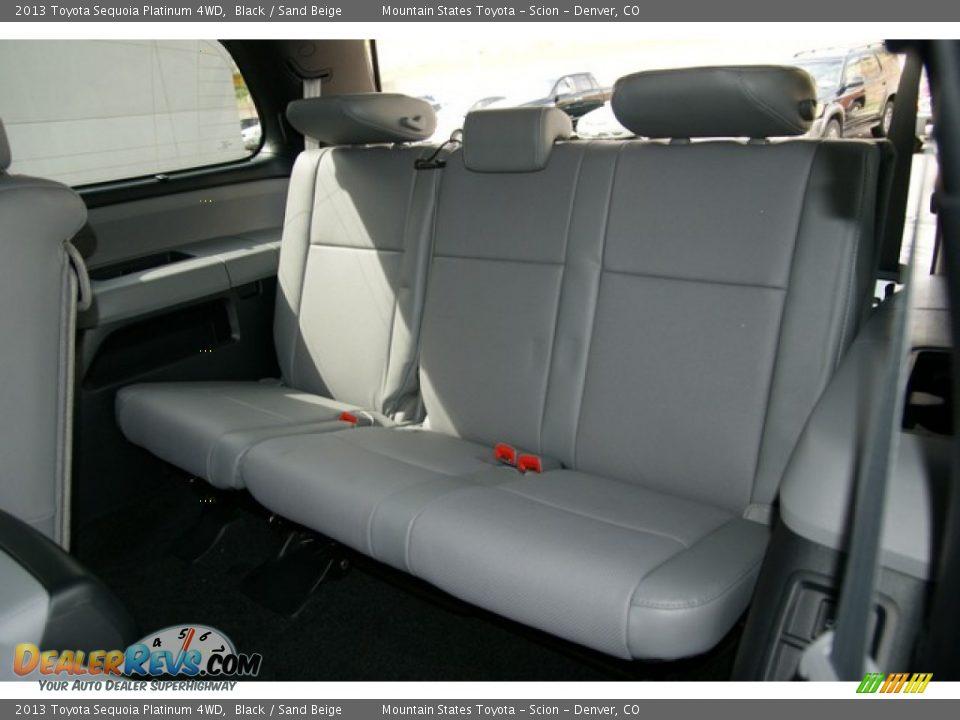 Rear Seat Of 2013 Toyota Sequoia Platinum 4wd Photo 8