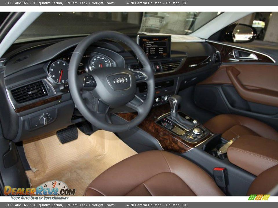 Audi A6 Nougat Brown Interior Nougat Brown Interior 2013 Audi At Quattro Sedan Nougat Brown