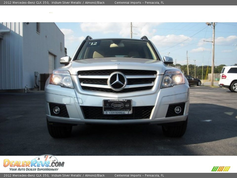 2012 mercedes benz glk 350 iridium silver metallic for Mercedes benz glk 2012