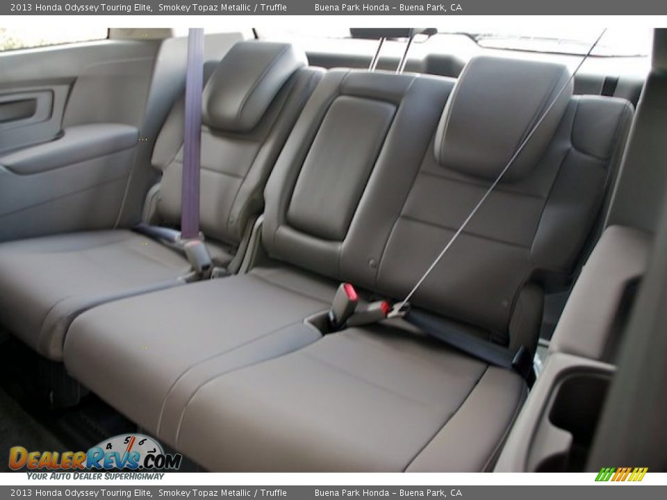 truffle interior   2013 honda odyssey touring elite photo 14 dealerrevs