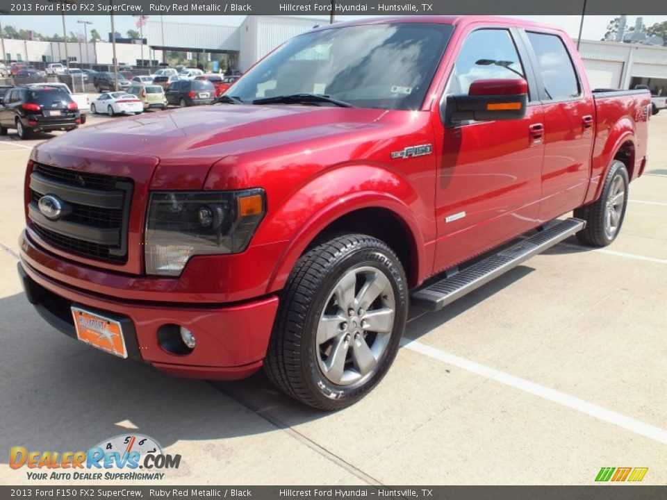 2013 ford f150 fx2 supercrew ruby red metallic black photo 9. Black Bedroom Furniture Sets. Home Design Ideas
