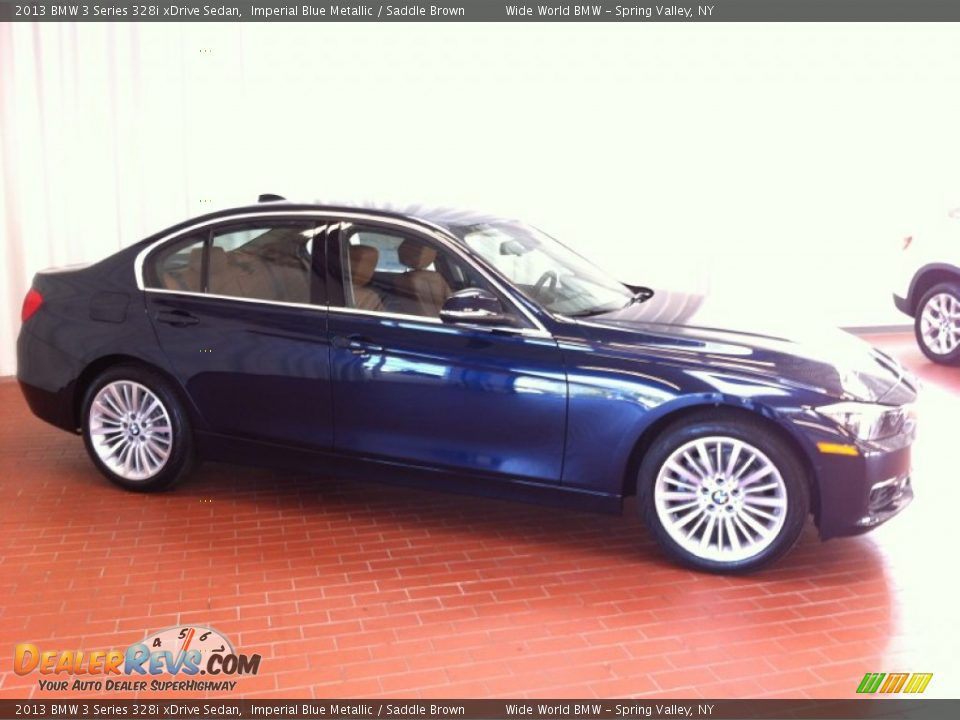 2013 Bmw 3 Series 328i Xdrive Sedan Imperial Blue Metallic