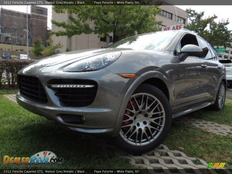2013 Porsche Cayenne Gts Meteor Grey Metallic Black