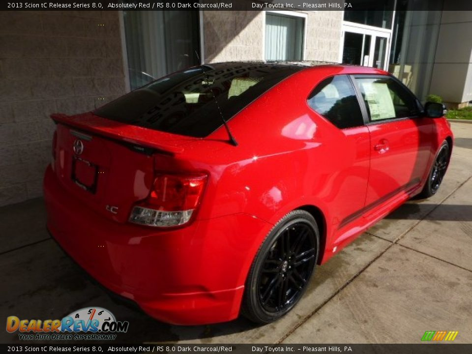 absolutely red 2013 scion tc release series 8 0 photo 2. Black Bedroom Furniture Sets. Home Design Ideas