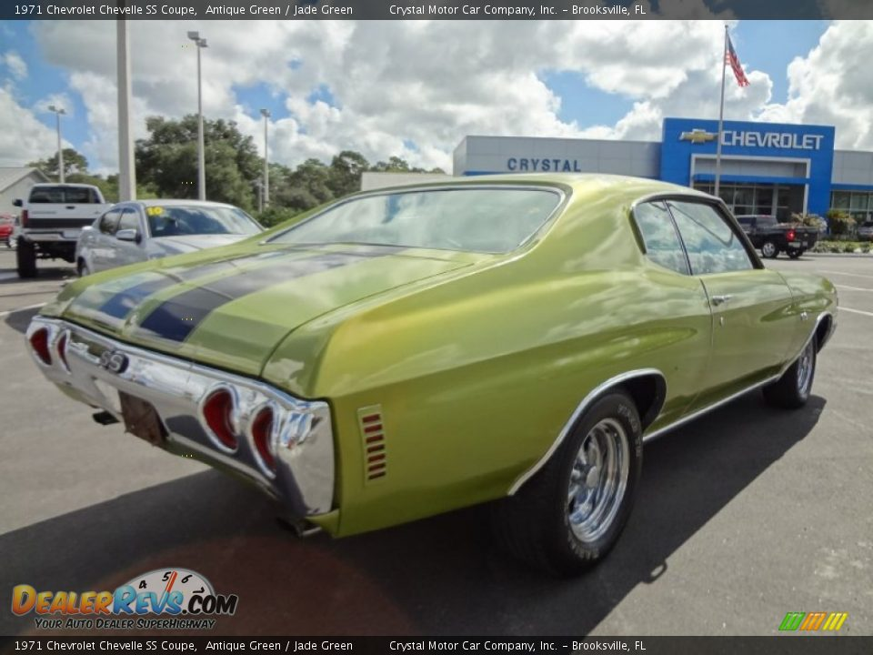New Chevelle Ss >> 1971 Chevrolet Chevelle SS Coupe Antique Green / Jade ...