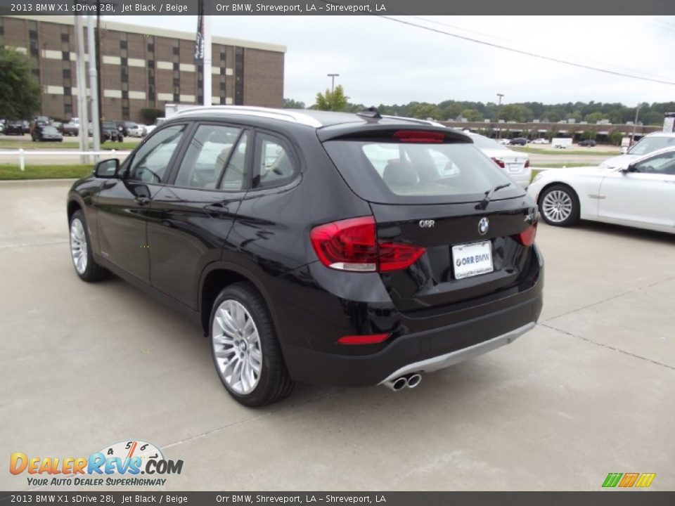 2013 bmw x1 sdrive 28i jet black beige photo 4. Black Bedroom Furniture Sets. Home Design Ideas