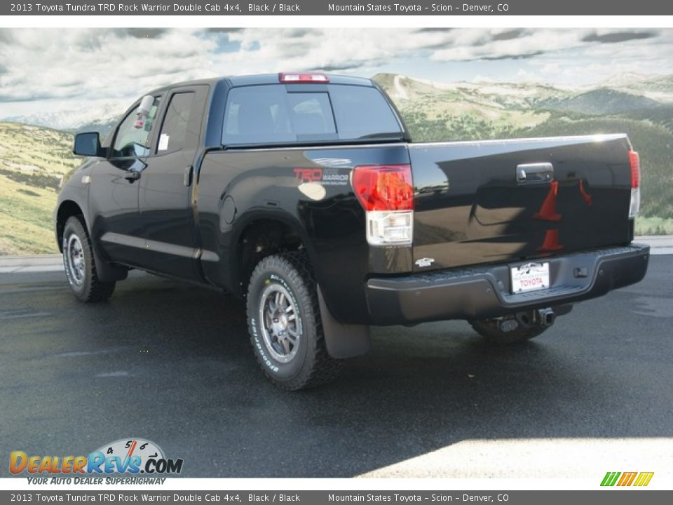 2013 toyota tundra trd rock warrior double cab 4x4 black black photo 2. Black Bedroom Furniture Sets. Home Design Ideas