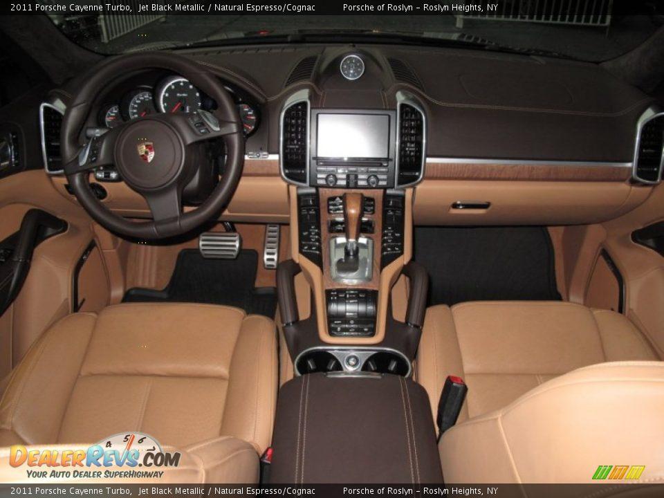 Natural Espresso Cognac Interior 2011 Porsche Cayenne Turbo Photo 15 Dealerrevs Com