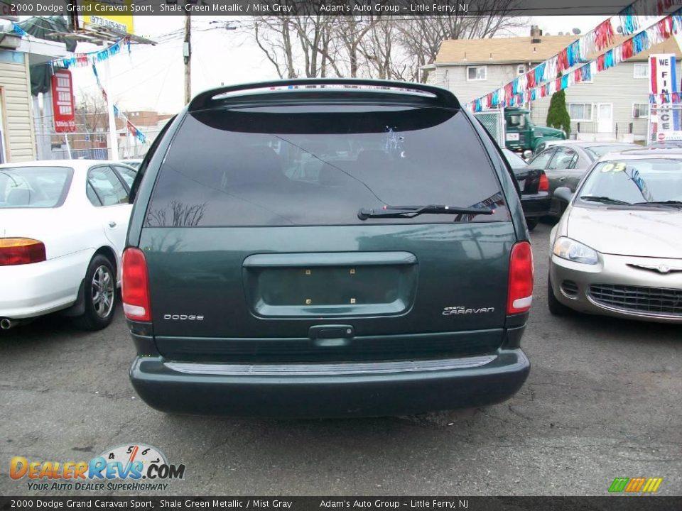 2000 dodge grand caravan sport shale green metallic mist gray photo 3. Black Bedroom Furniture Sets. Home Design Ideas