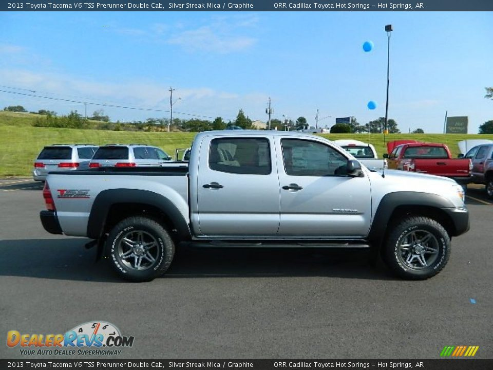 silver streak mica 2013 toyota tacoma v6 tss prerunner double cab photo 2. Black Bedroom Furniture Sets. Home Design Ideas