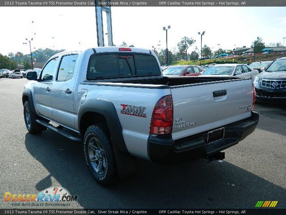 2013 toyota tacoma v6 tss prerunner double cab silver streak mica graphite photo 5. Black Bedroom Furniture Sets. Home Design Ideas
