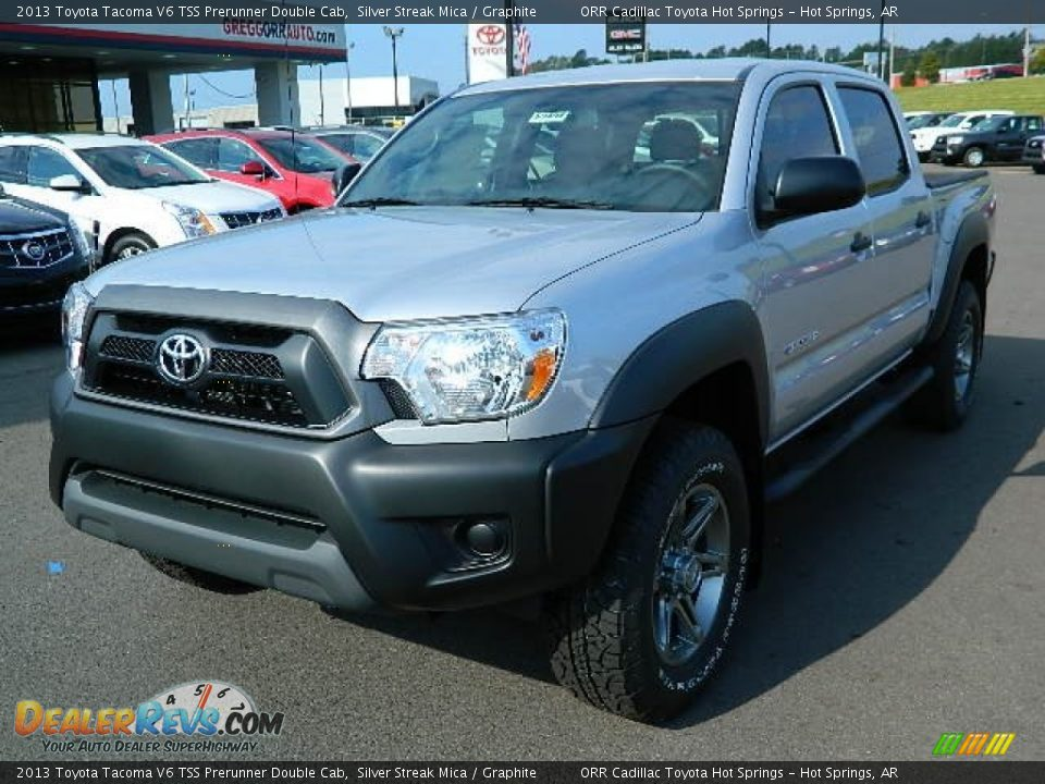 2013 toyota tacoma v6 tss prerunner double cab silver streak mica graphite photo 7. Black Bedroom Furniture Sets. Home Design Ideas