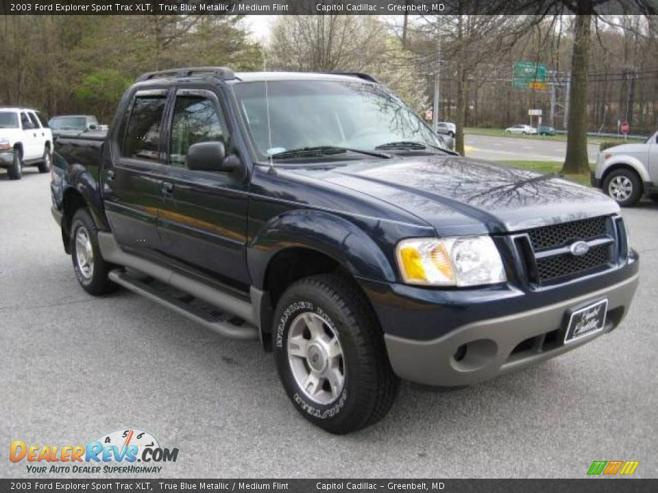 2003 ford explorer sport trac xlt true blue metallic medium flint. Cars Review. Best American Auto & Cars Review