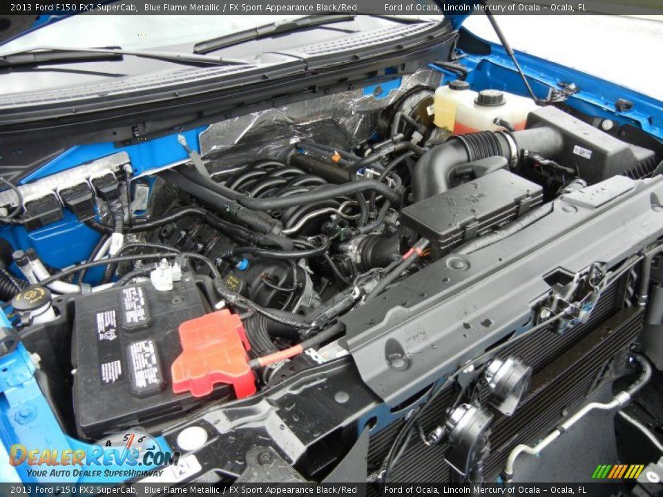 2013 ford f150 fx2 supercab 5 0 liter flex fuel dohc 32 valve ti vct v8 engine photo 11. Black Bedroom Furniture Sets. Home Design Ideas