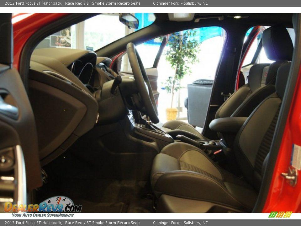 st smoke storm recaro seats interior 2013 ford focus st hatchback photo 10. Black Bedroom Furniture Sets. Home Design Ideas