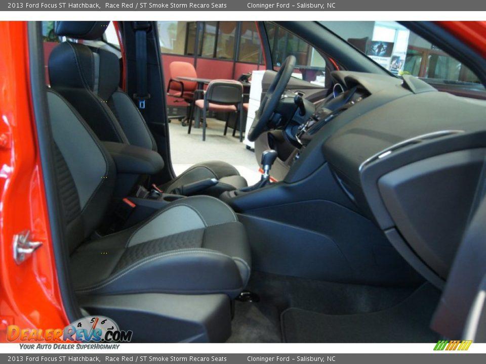 st smoke storm recaro seats interior 2013 ford focus st hatchback photo 14. Black Bedroom Furniture Sets. Home Design Ideas