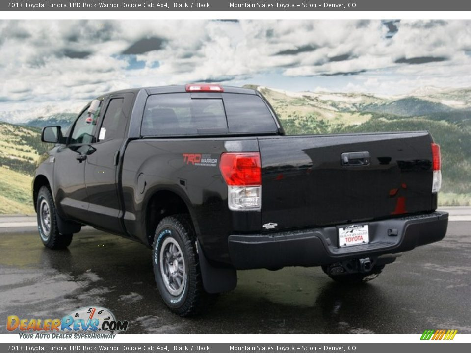 2013 toyota tundra trd rock warrior double cab 4x4 black black photo 3. Black Bedroom Furniture Sets. Home Design Ideas
