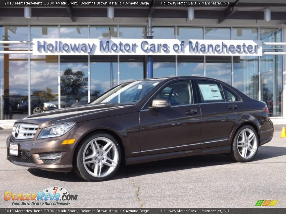 2013 mercedes benz c 300 4matic sport dolomite brown for Mercedes benz genuine polar white touch up paint code 149