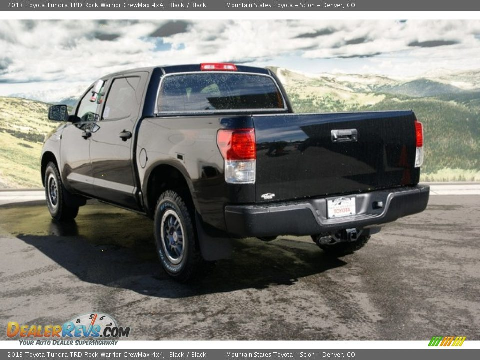 2013 toyota tundra trd rock warrior crewmax 4x4 black black photo 3. Black Bedroom Furniture Sets. Home Design Ideas