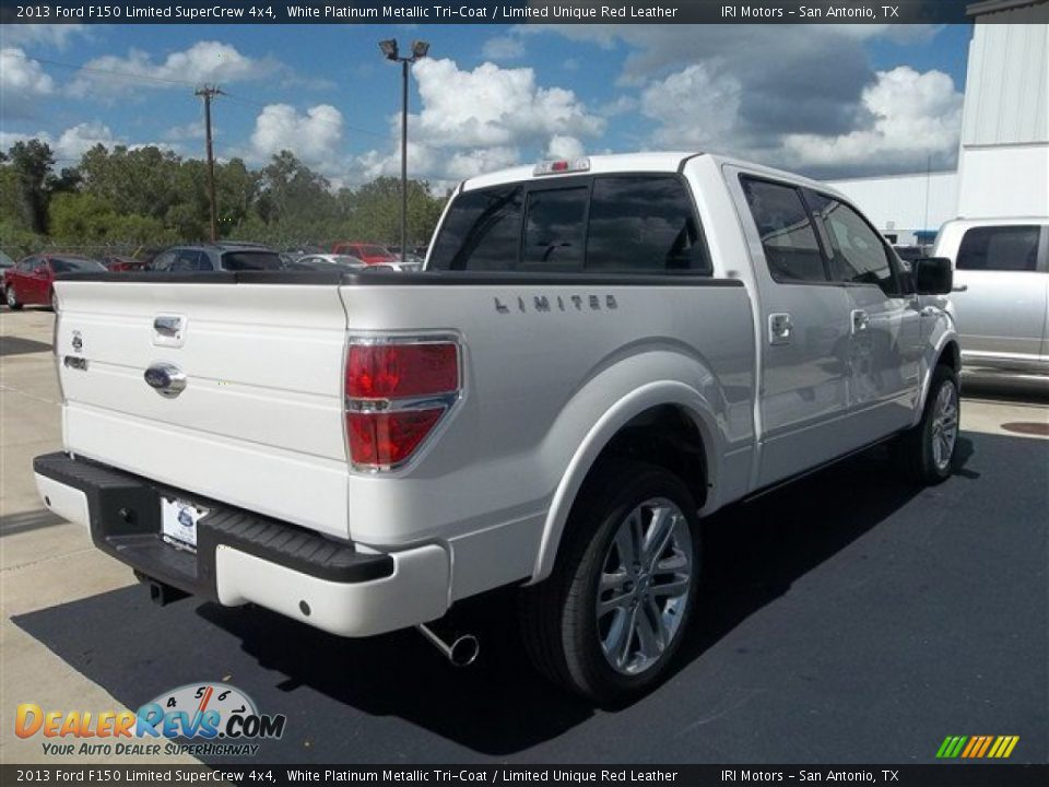 2013 Ford F150 Limited Supercrew 4x4 White Platinum