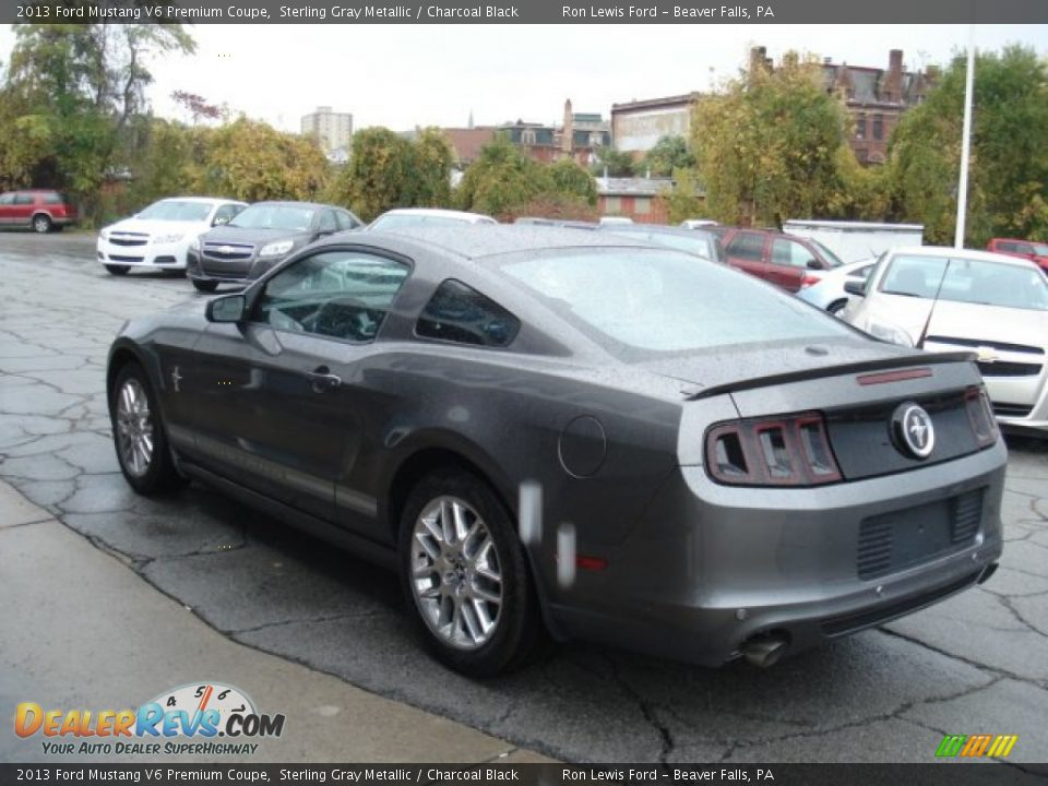 2013 ford mustang v6 premium coupe sterling gray metallic charcoal. Black Bedroom Furniture Sets. Home Design Ideas