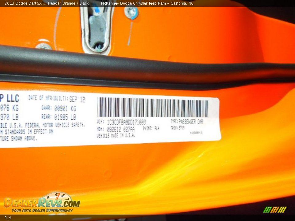 Header Orange Paint Code