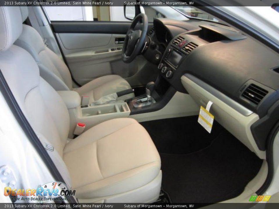 Ivory Interior 2013 Subaru Xv Crosstrek 2 0 Limited Photo 9