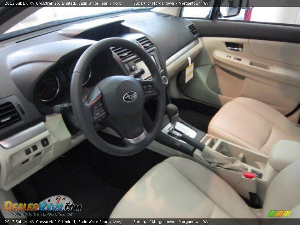 Ivory Interior 2013 Subaru Xv Crosstrek 2 0 Limited Photo 15