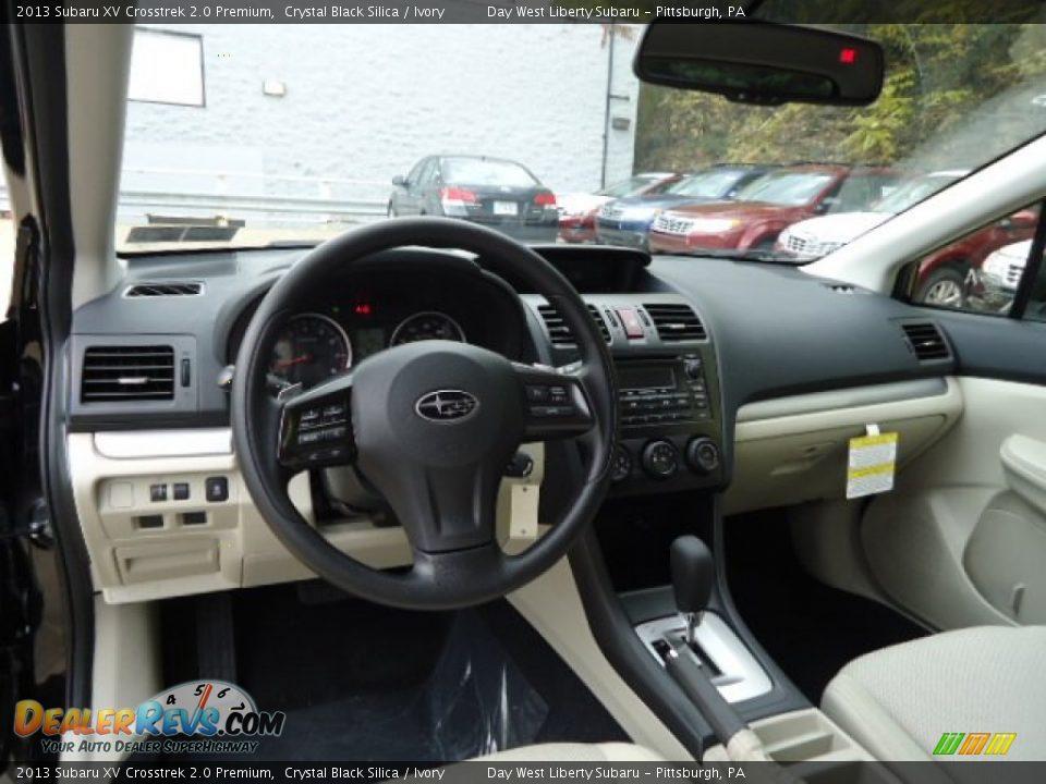Ivory Interior 2013 Subaru Xv Crosstrek 2 0 Premium Photo 12