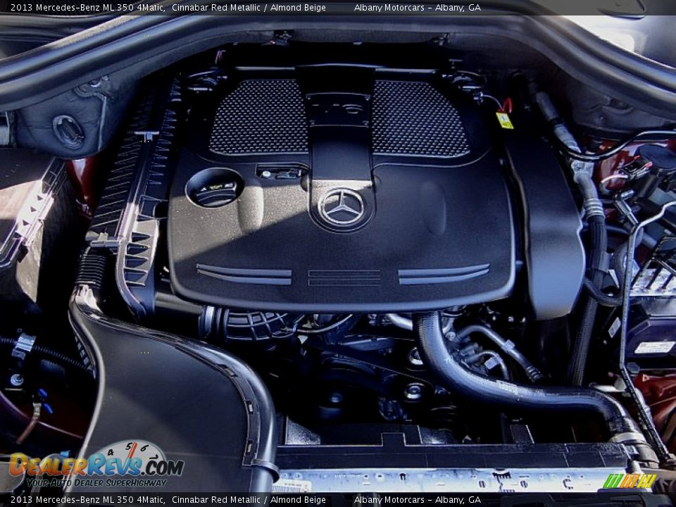 2013 mercedes benz ml 350 4matic 3 5 liter di dohc 24 for Mercedes benz 3 5 v6 engine