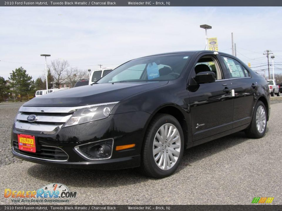 2010 ford fusion hybrid tuxedo black metallic charcoal black photo 1. Black Bedroom Furniture Sets. Home Design Ideas