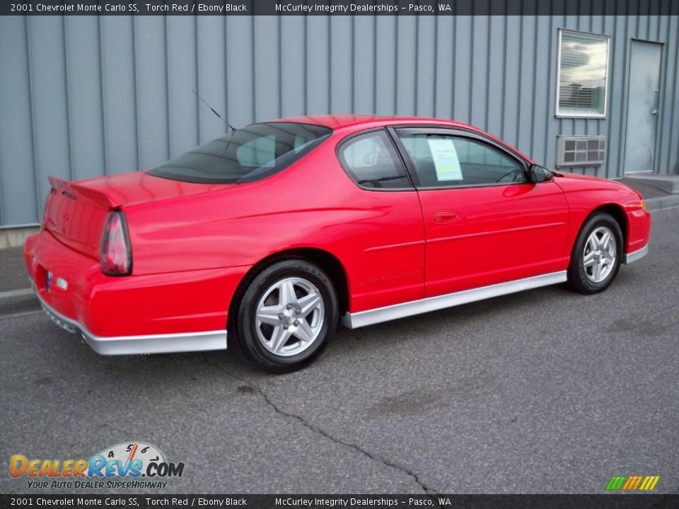 2001 chevrolet monte carlo ss torch red ebony black photo 3. Black Bedroom Furniture Sets. Home Design Ideas