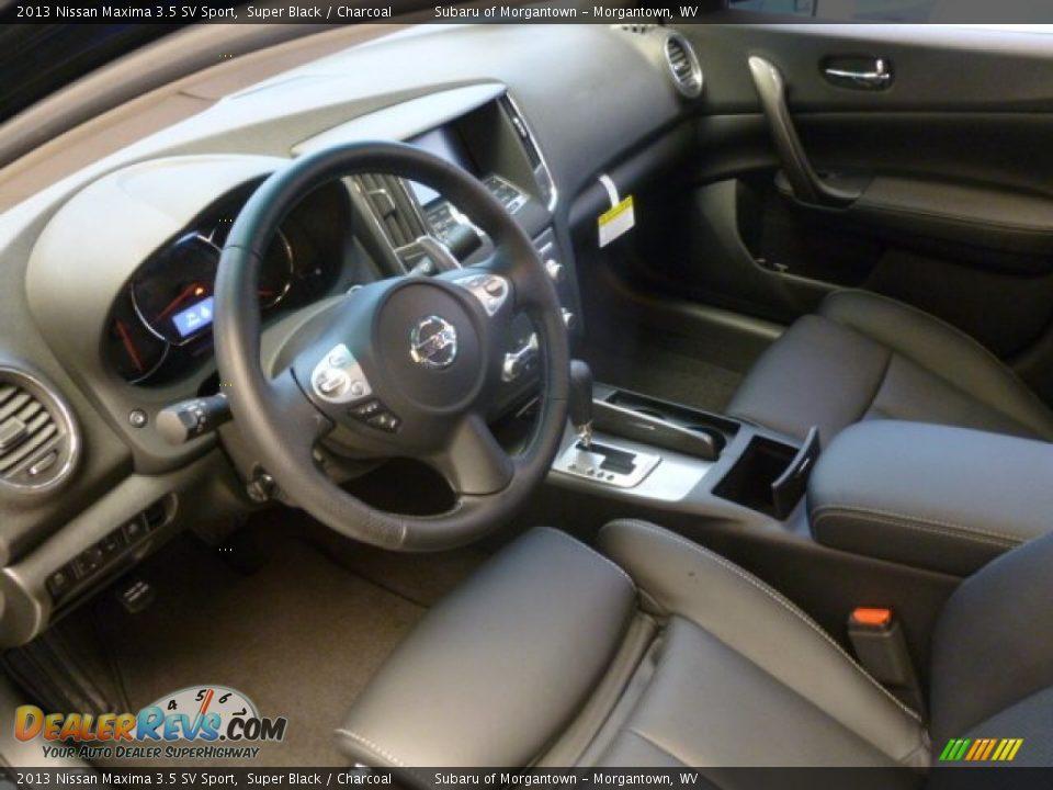 Charcoal Interior 2013 Nissan Maxima 3 5 Sv Sport Photo