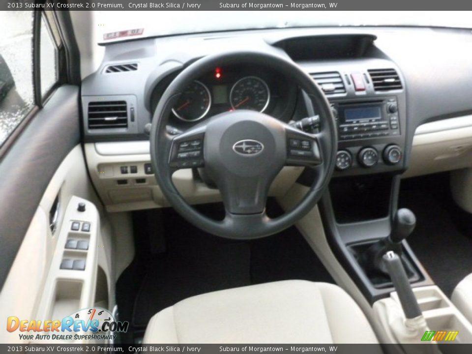 Ivory Interior 2013 Subaru Xv Crosstrek 2 0 Premium Photo 15