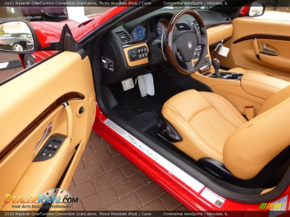 Cuoio Interior 2013 Maserati Granturismo Convertible Grancabrio Photo 16