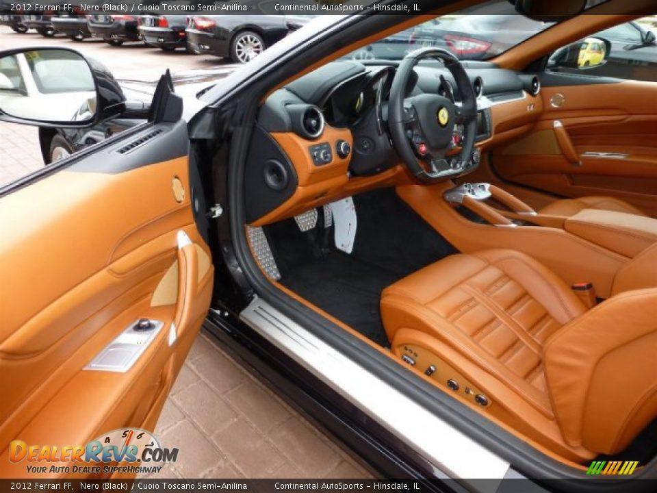 Cuoio Toscano Semi Anilina Interior 2012 Ferrari Ff Photo 13