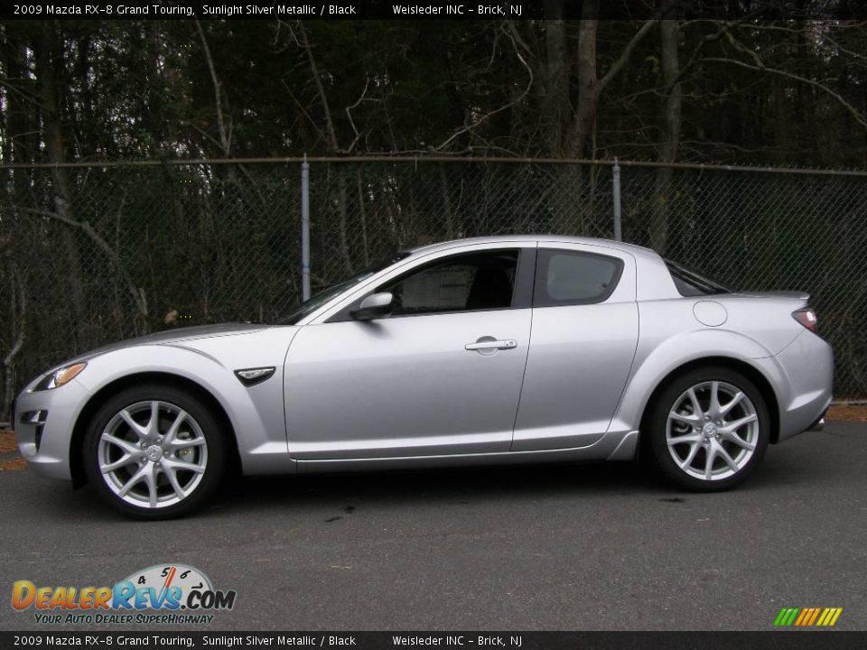 2009 Mazda Rx 8 Grand Touring Sunlight Silver Metallic Black Photo 3 Dealerrevs Com