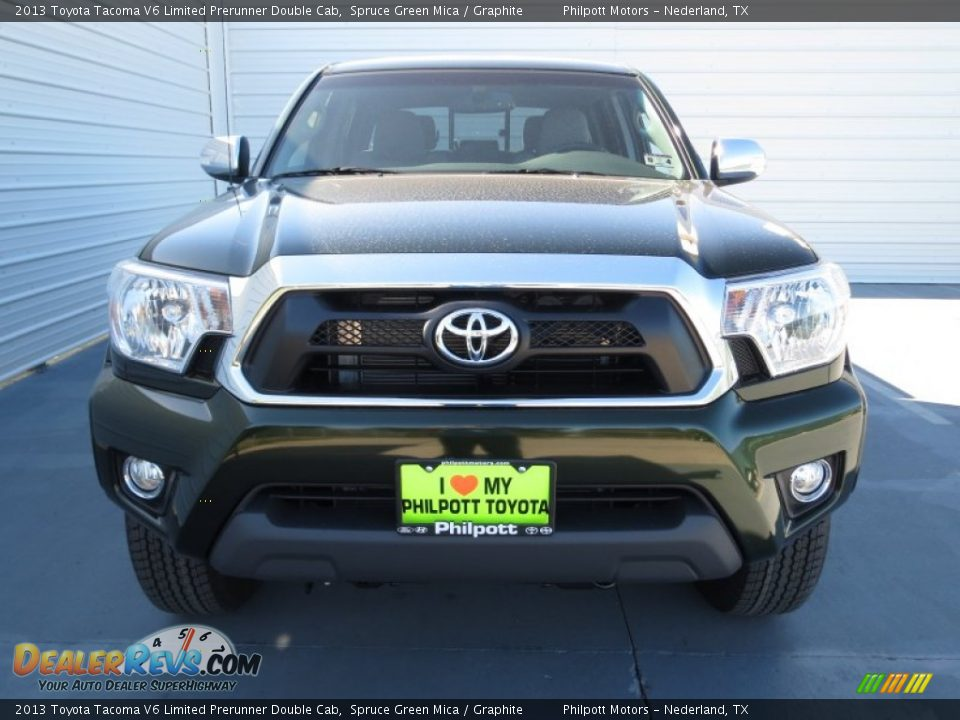 2013 toyota tacoma v6 limited prerunner double cab spruce green mica graphite photo 7. Black Bedroom Furniture Sets. Home Design Ideas